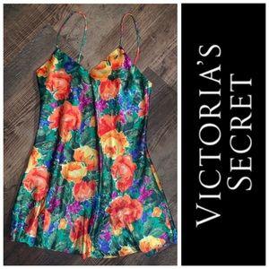 Victoria's Secret Floral Chemise